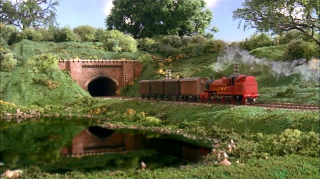 TV版第7シーズンの果物を積んだ有蓋貨車12