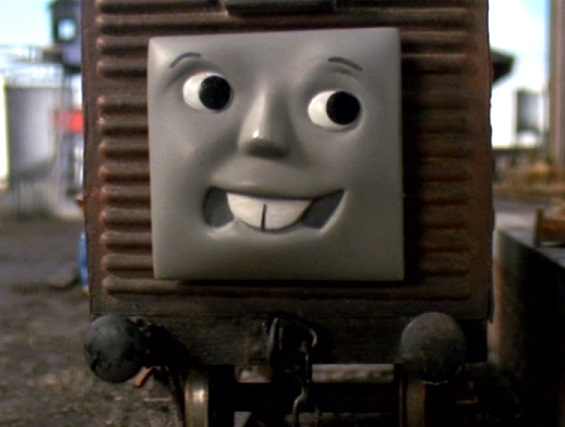 TV版第7シーズンの果物を積んだ有蓋貨車2