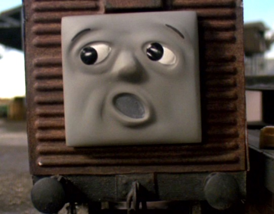 TV版第7シーズンの果物を積んだ有蓋貨車4