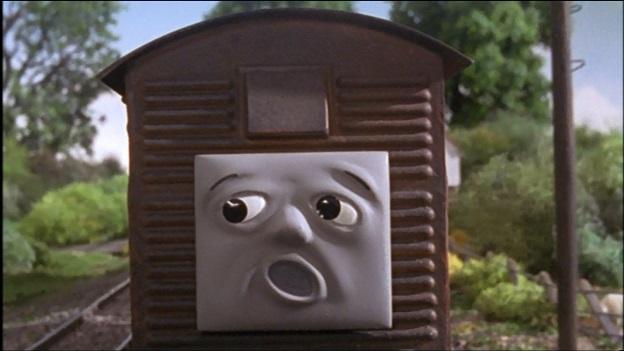 TV版第7シーズンの果物を積んだ有蓋貨車7