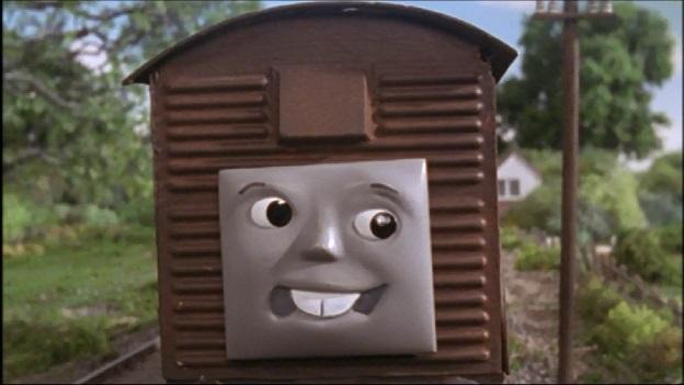 TV版第7シーズンの果物を積んだ有蓋貨車8