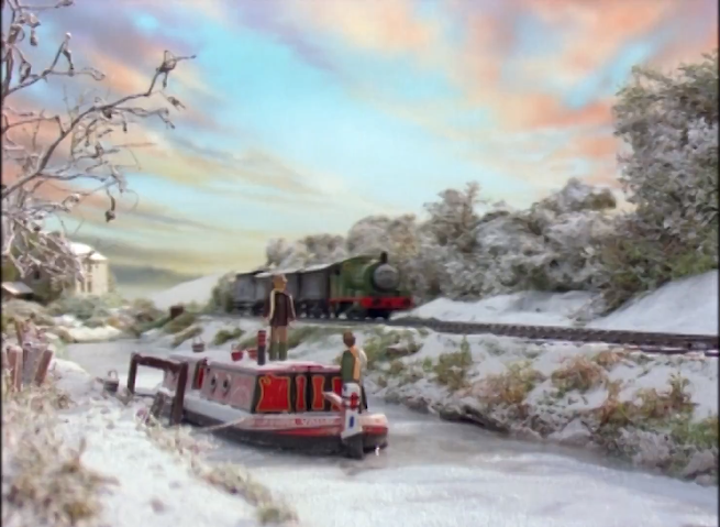 TV版第3シーズンの果物列車(有蓋貨車)