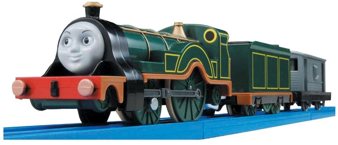 プラレールの灰色のイギリス国鉄の20トンブレーキ車2(エミリーに付属)