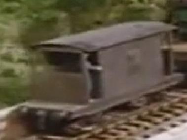 第2シーズンの灰色のイギリス国鉄の20トンブレーキ車22