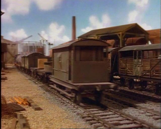 TV版第2シーズンの灰色のイギリス国鉄の20トンブレーキ車6