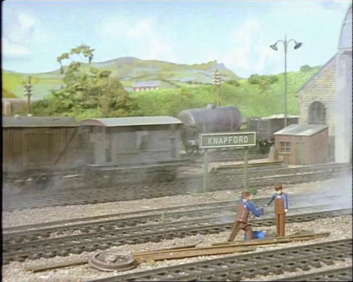 TV版第1シーズンの灰色のイギリス国鉄の20トンブレーキ車10