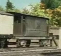 TV版第3シーズンの灰色のイギリス国鉄の20トンブレーキ車13