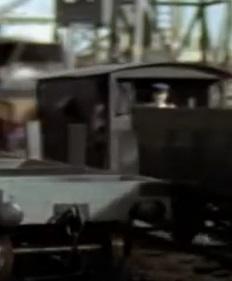 TV版第5シーズンの灰色のイギリス国鉄の20トンブレーキ車5
