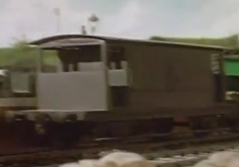 TV版第2シーズンの灰色のイギリス国鉄の20トンブレーキ車5