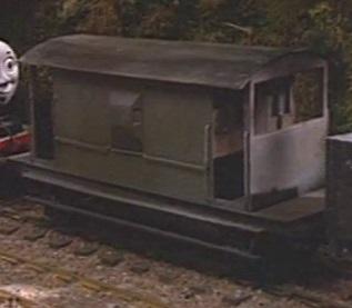 TV版第1シーズンの灰色のイギリス国鉄の20トンブレーキ車2
