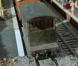 TV版第3シーズンの灰色のイギリス国鉄の20トンブレーキ車4