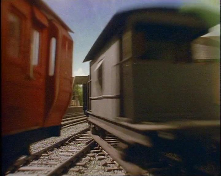TV版第2シーズンの灰色のイギリス国鉄の20トンブレーキ車21