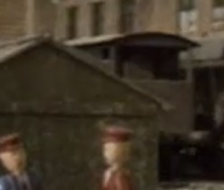TV版第3シーズンの灰色のイギリス国鉄の20トンブレーキ車9