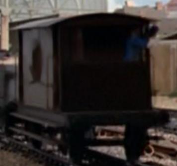 TV版第1シーズンの灰色のイギリス国鉄の20トンブレーキ車4
