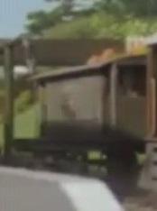TV版第4シーズンの灰色のイギリス国鉄の20トンブレーキ車