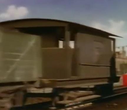 TV版第2シーズンの灰色のイギリス国鉄の20トンブレーキ車7