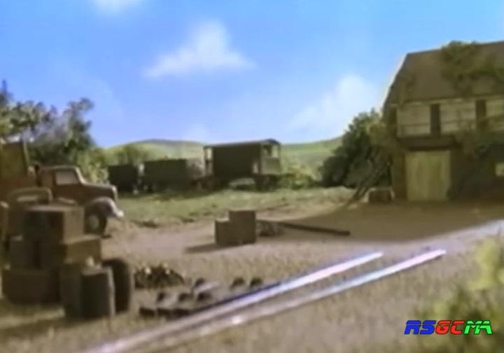 TV版第5シーズンの灰色のイギリス国鉄の20トンブレーキ車4