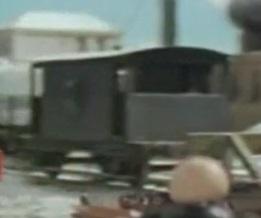 TV版第3シーズンの灰色のイギリス国鉄の20トンブレーキ車2