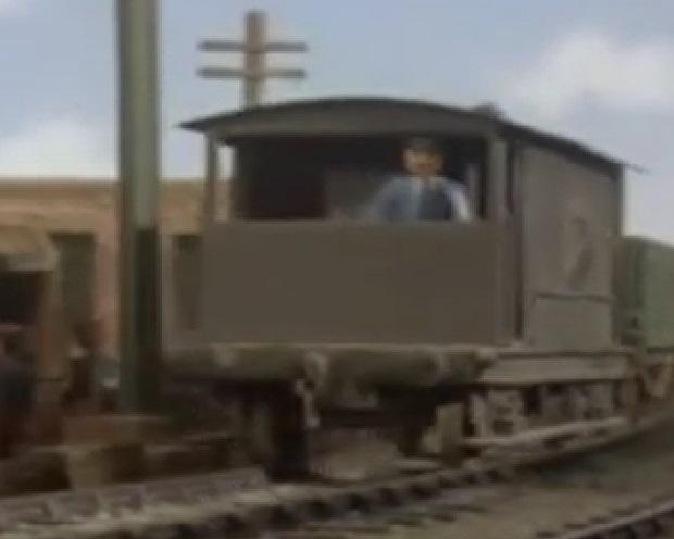 TV版第4シーズンの灰色のイギリス国鉄の20トンブレーキ車9