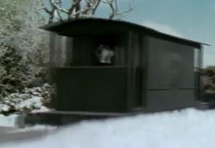 TV版第6シーズンの灰色のイギリス国鉄の20トンブレーキ車