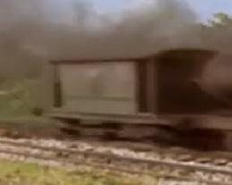 TV版第5シーズンの灰色のイギリス国鉄の20トンブレーキ車7
