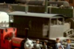 TV版第4シーズンの灰色のイギリス国鉄の20トンブレーキ車7