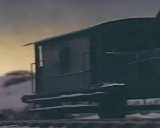 TV版第1シーズンの灰色のイギリス国鉄の20トンブレーキ車11