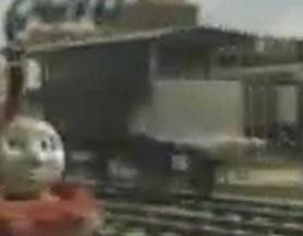 TV版第4シーズンの灰色のイギリス国鉄の20トンブレーキ車5