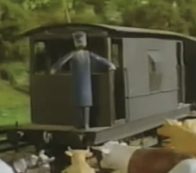 TV版第2シーズンの灰色のイギリス国鉄の20トンブレーキ車3