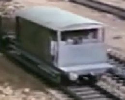 TV版第1シーズンの灰色のイギリス国鉄の20トンブレーキ車6