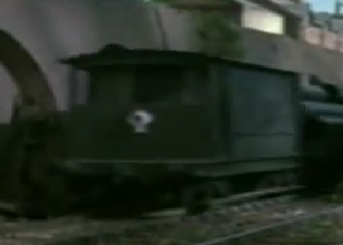 TV版第6シーズンの灰色のイギリス国鉄の20トンブレーキ車3