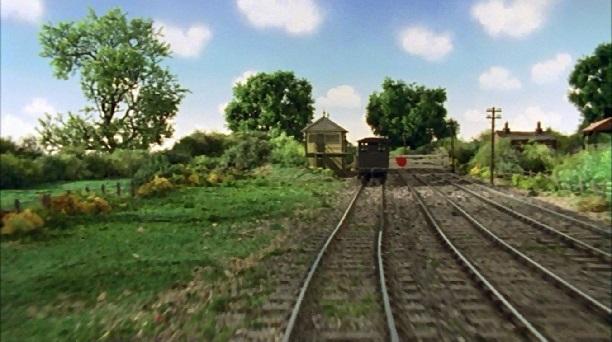 TV版第7シーズンの灰色のイギリス国鉄の20トンブレーキ車