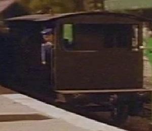 TV版第2シーズンの灰色のイギリス国鉄の20トンブレーキ車19