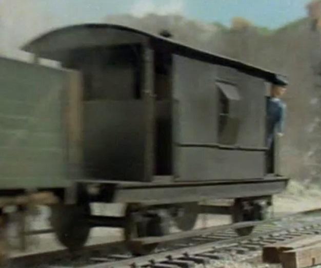 TV版第3シーズンの灰色のイギリス国鉄の20トンブレーキ車11