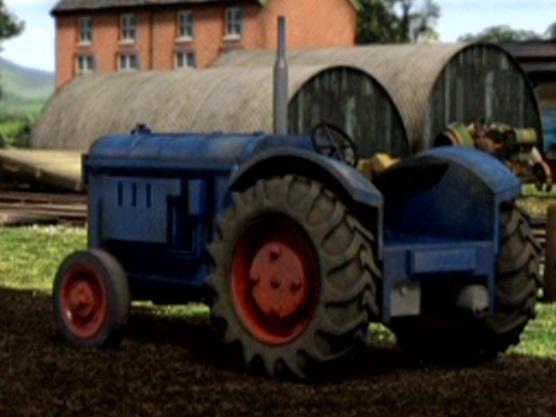 TV版第16シーズンの無蓋トラクター