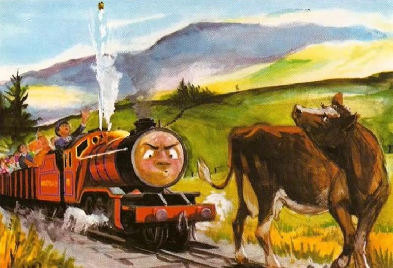 原作第22巻のマイクの牛