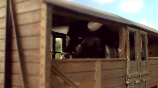 TV版第7シーズンの農夫の雄牛
