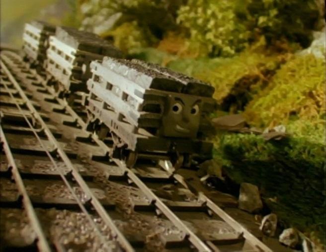 TV版第4シーズンの狭軌のスレート貨車(タイプ1)