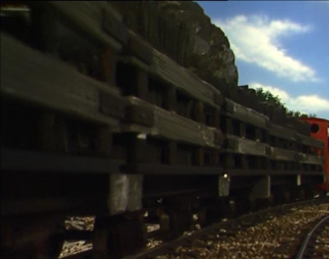 TV版第10シーズンの狭軌のスレート貨車(タイプ1、性別は女)