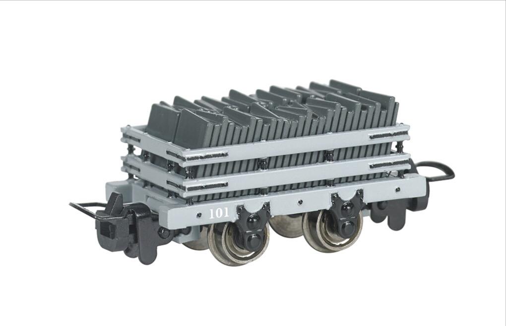バックマンの狭軌のスレート貨車(タイプ2)