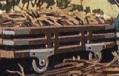 原作第29巻の狭軌の無蓋貨車(タイプ2)