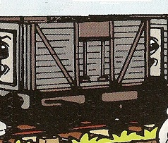 マガジンの狭軌の無蓋貨車(タイプ4)