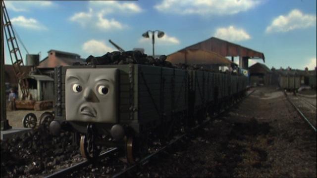 TV版第8シーズンの石炭の貨車