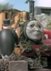 TV版第6シーズンのダンカンを乗せた貨車