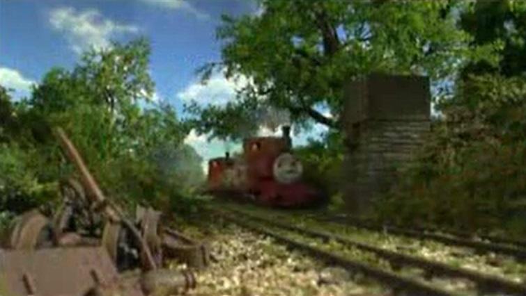 TV版第9シーズンの給水塔