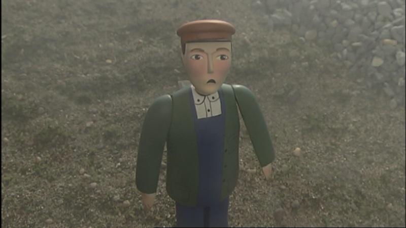 TV版第8シーズンの給炭所の主任