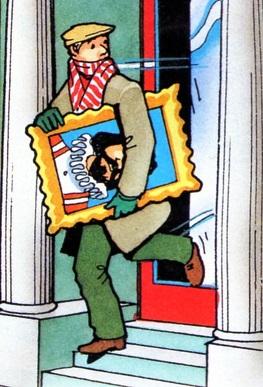 マガジンストーリーの絵画泥棒