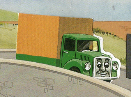 原作番外編の緑のトラック