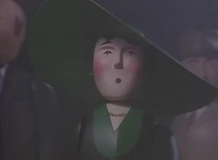 TV版第2シーズンの緑の帽子を被った女性