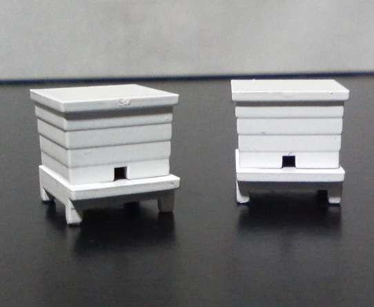 カプセルプラレールの蜜蜂の巣箱